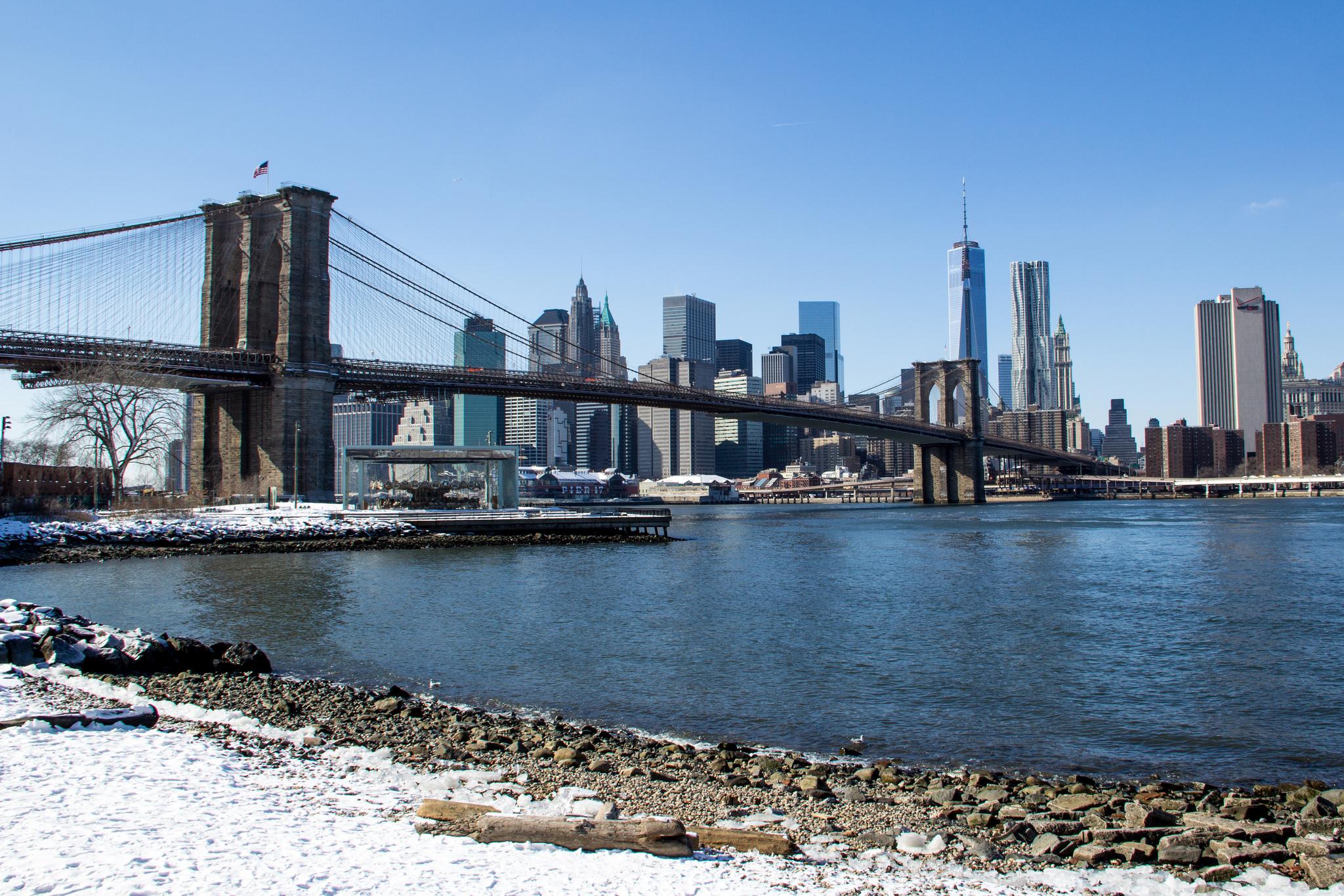 Das Wetter in New York im Februar