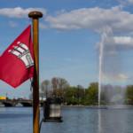 Das Wetter und Klima in Hamburg im April
