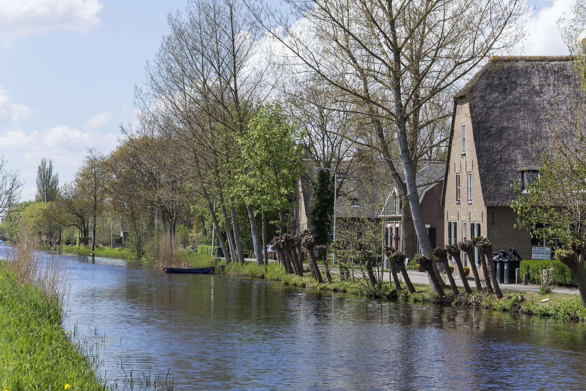 Das Wetter im April für Holland