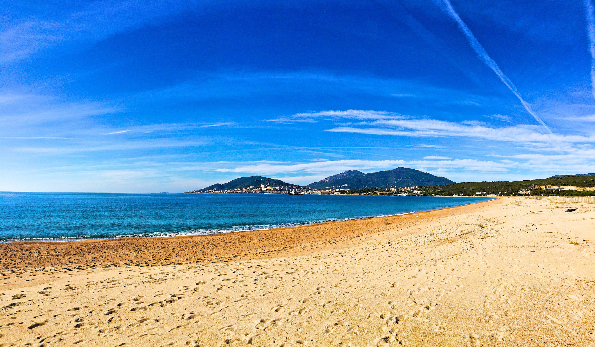Das Wetter im November für Korsika