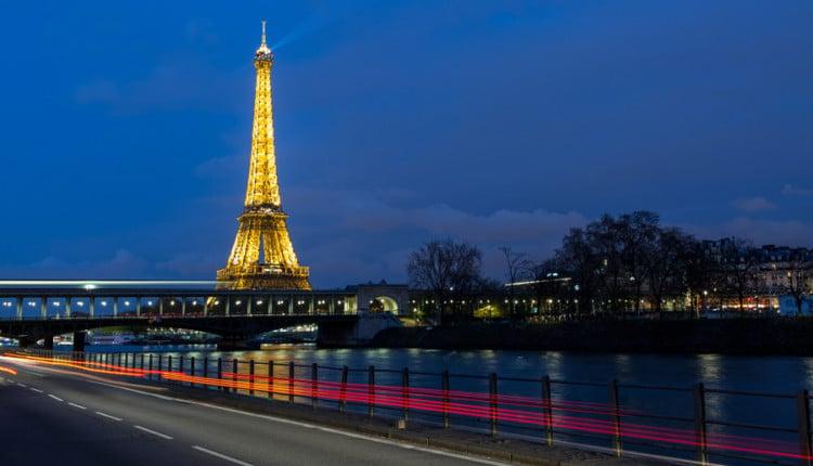 Das Wetter im April für Paris