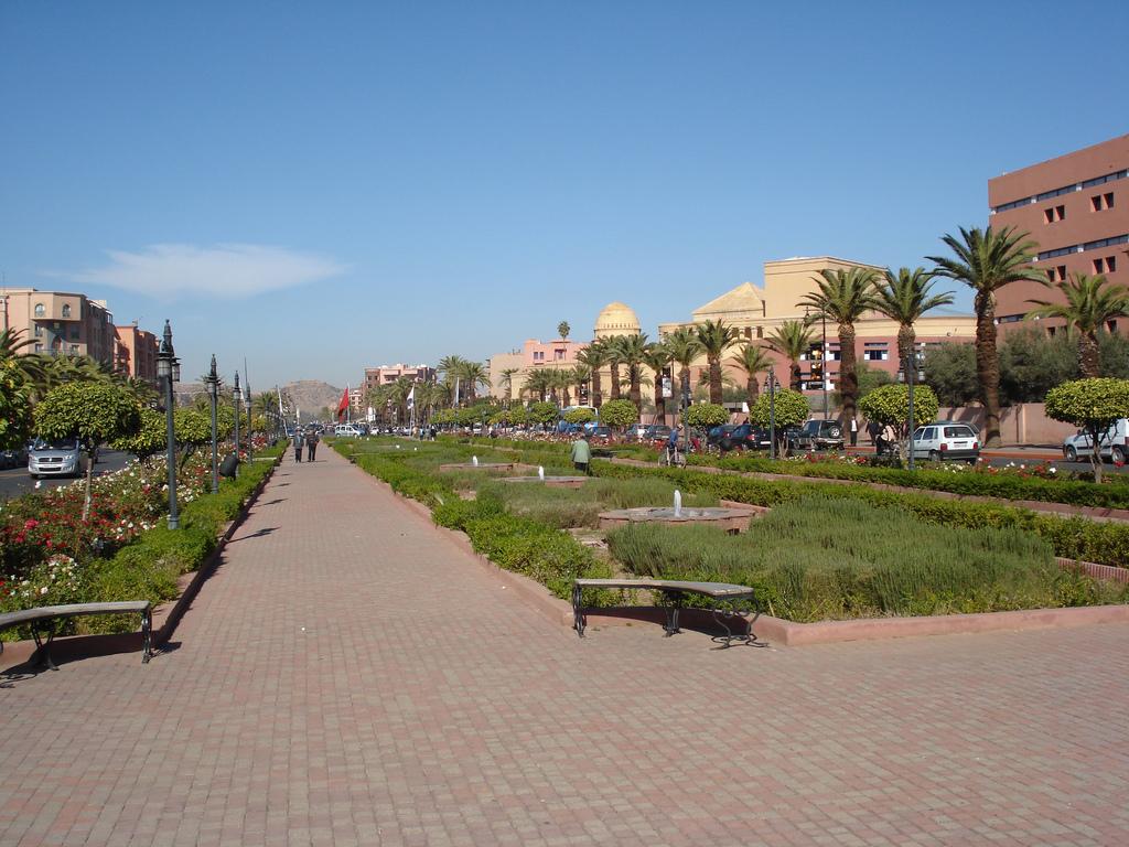 Das Wetter im Januar für Marrakesch