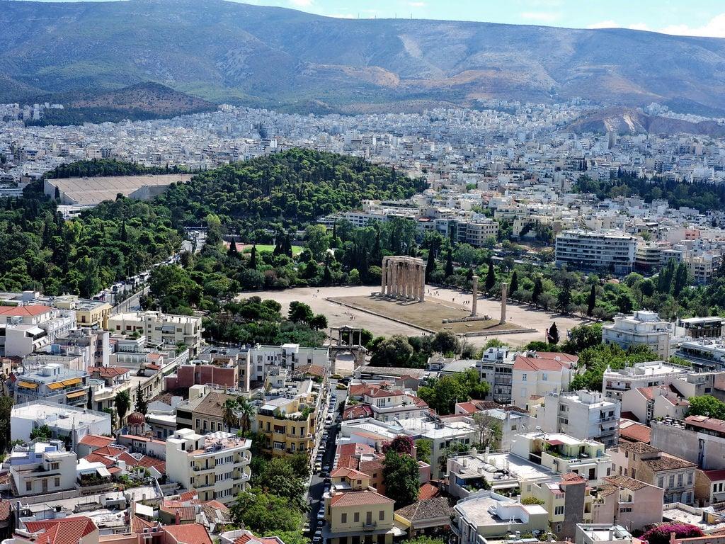 Das Wetter im August in Athen
