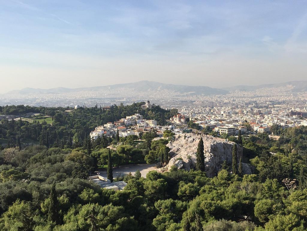 Das Wetter im November für Athen