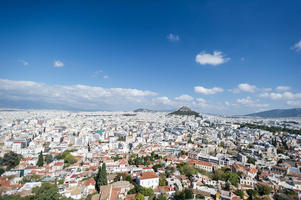 Das Wetter im Oktober für Athen