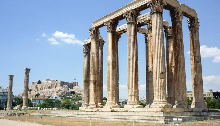Griechenland Februar